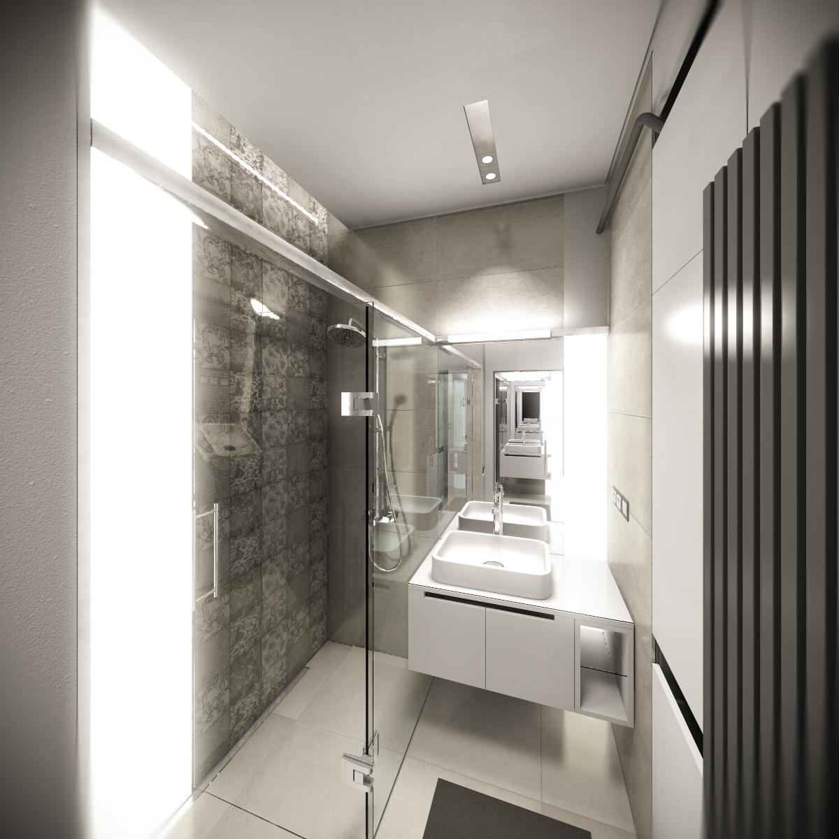 Fürdőszoba belsőépítészet